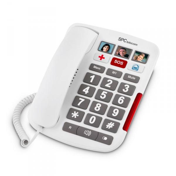 Desktop Phone with Photos SPC Telecom 3287B, Panafonic