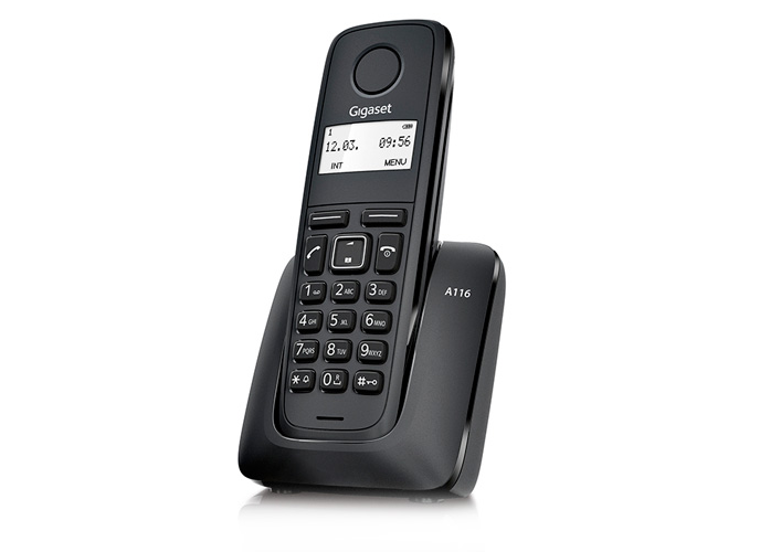 Siemens Gigaset Basic DECT Cordless Phone A116