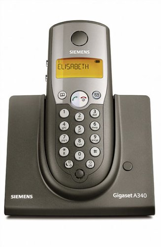 dect cordless phone siemens gigaset a340 discontinued panafonic. Black Bedroom Furniture Sets. Home Design Ideas