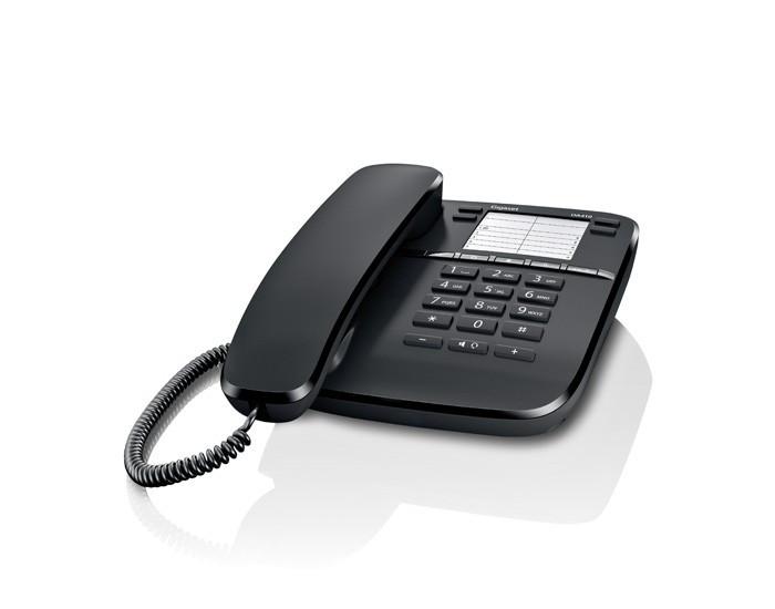 Teléfono sobremesa Gigaset DA410 (negro)