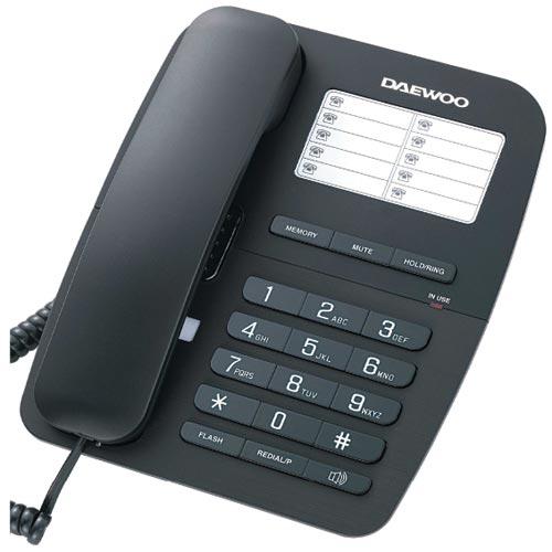 Teléfono Sobremesa con Manos Libres Daewoo DTC-240