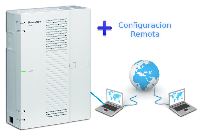 Centralita Hibrida Panasonic + Programacion Remota