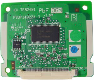 Tarjeta 1 canal para operadora automatica KX-TE82491