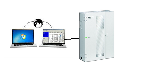 SAT: Programación remota Centralita Panasonic HTS32