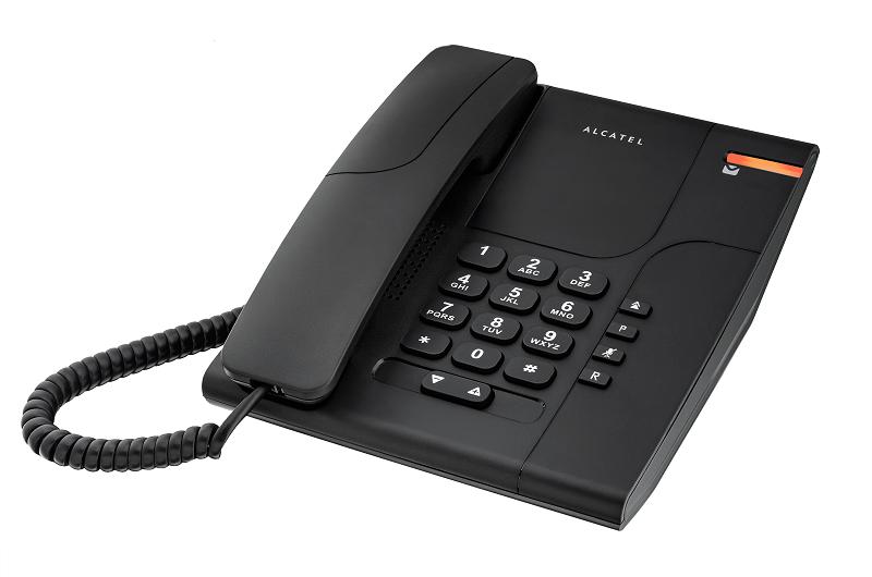 -Telefono sobremesa Alcatel Temporis 180 negro