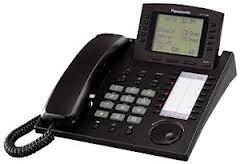 Panasonic Systemtelefon KX-T7536 in schwarz